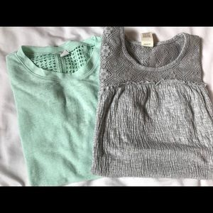 Other - 2 girls shirts size 8